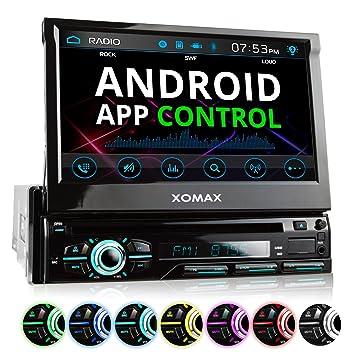 XOMAX XM-DTSB928 Autoradio mit 18cm I 7 Zoll HD: Amazon.de: Elektronik