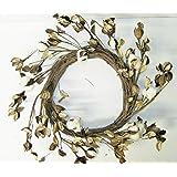 Cotton Boll and Cotton Pod Grapevine Wreath 20 inch diameter