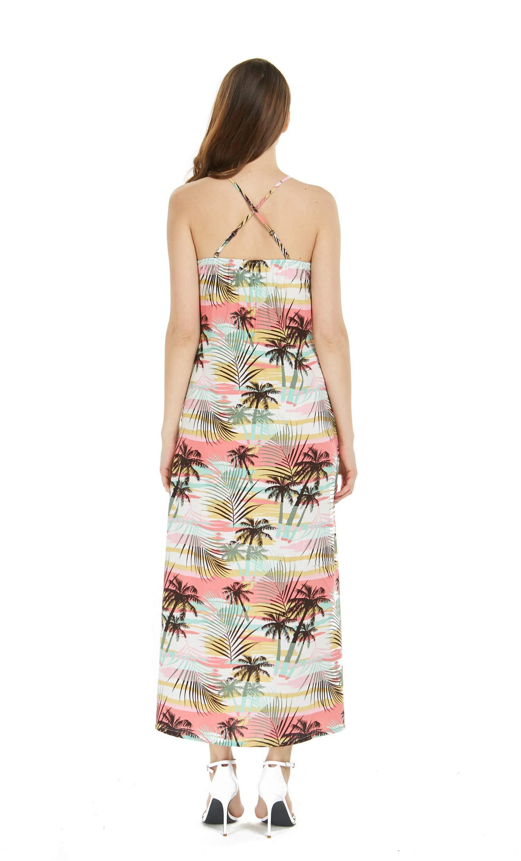 Matching Mother Son Hawaiian Luau Outfit Dress Shirt in Neon Sunset Women M Boy 4 by Hawaii Hangover (Image #4)