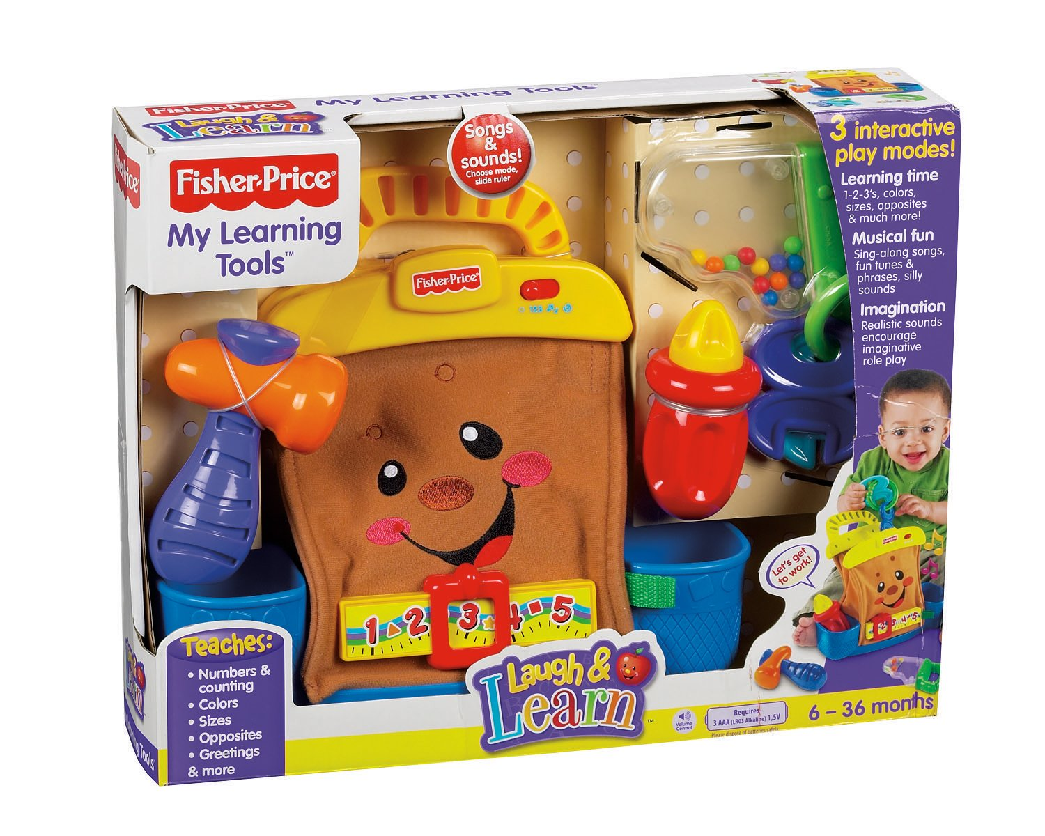 Fisher Price Laugh & Learning My Learning Tools