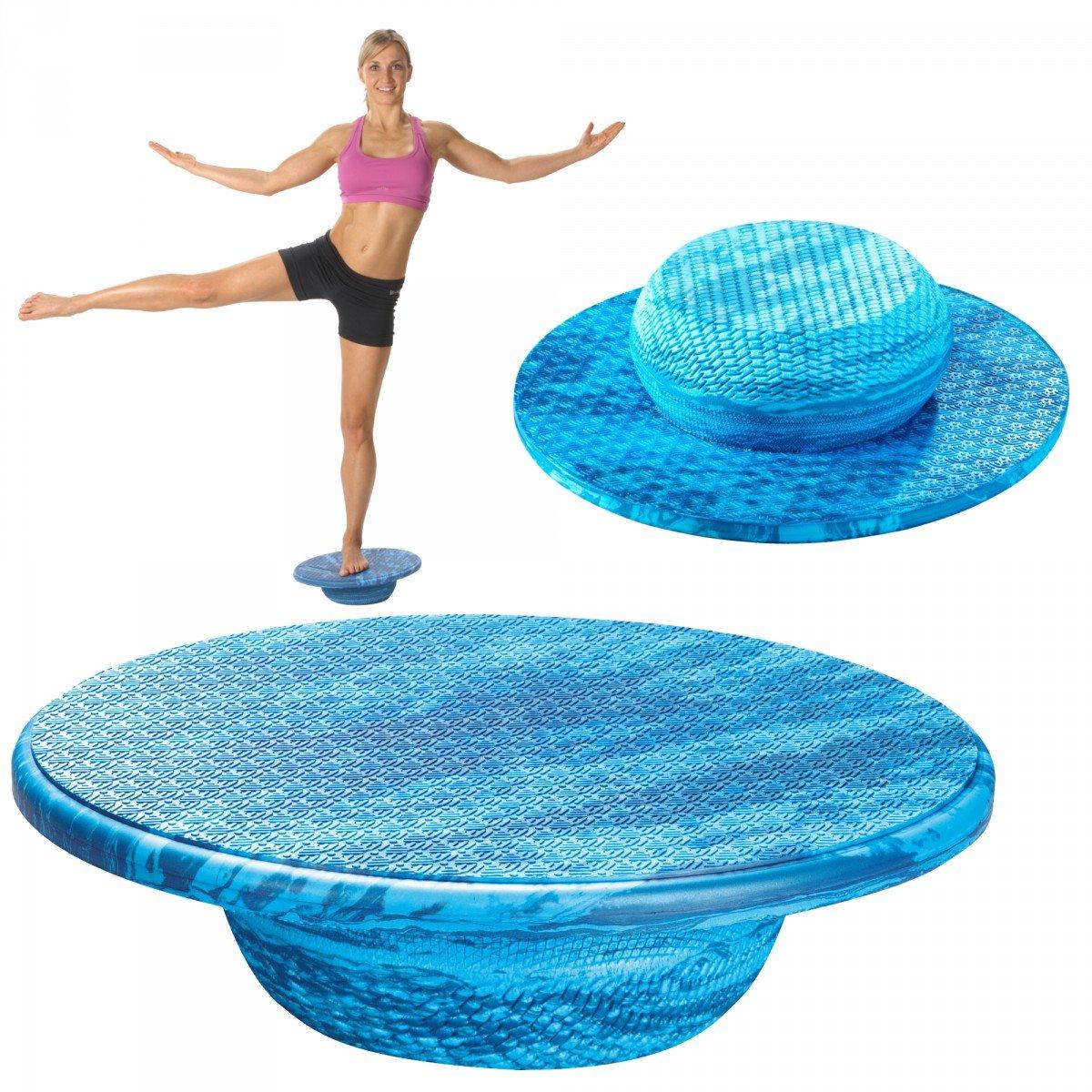 Balanza Balance Pad Circulo, Blau gemustert, 39 x 9 cm