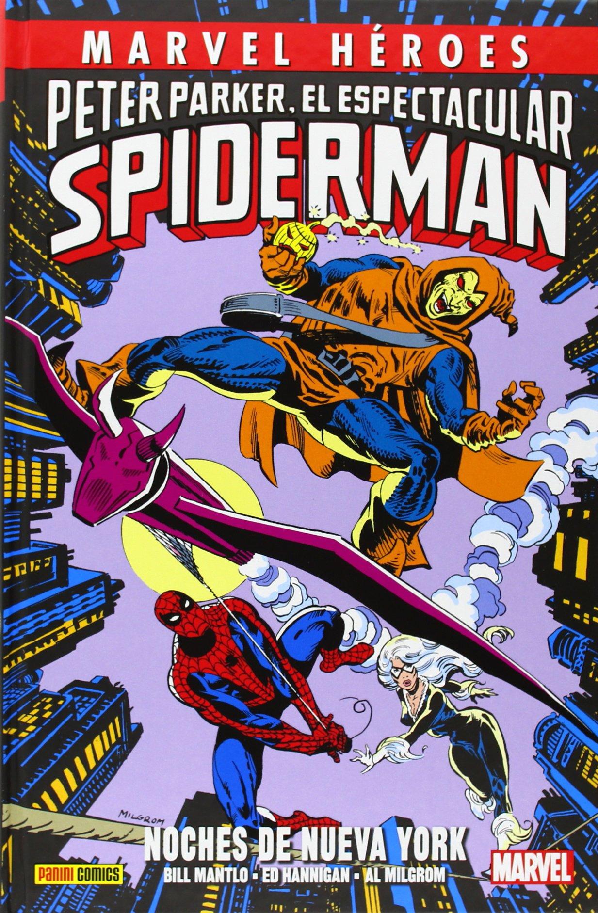 Peter Parker, El Espectacular Spiderman. Noches De Nueva York Marvel Heroes: Amazon.es: Mantlo Bill: Libros