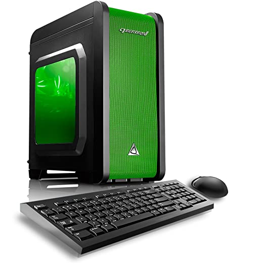 Amazon.com: CybertronPC Electrum QS-A4 Gaming Desktop - AMD A4 ...