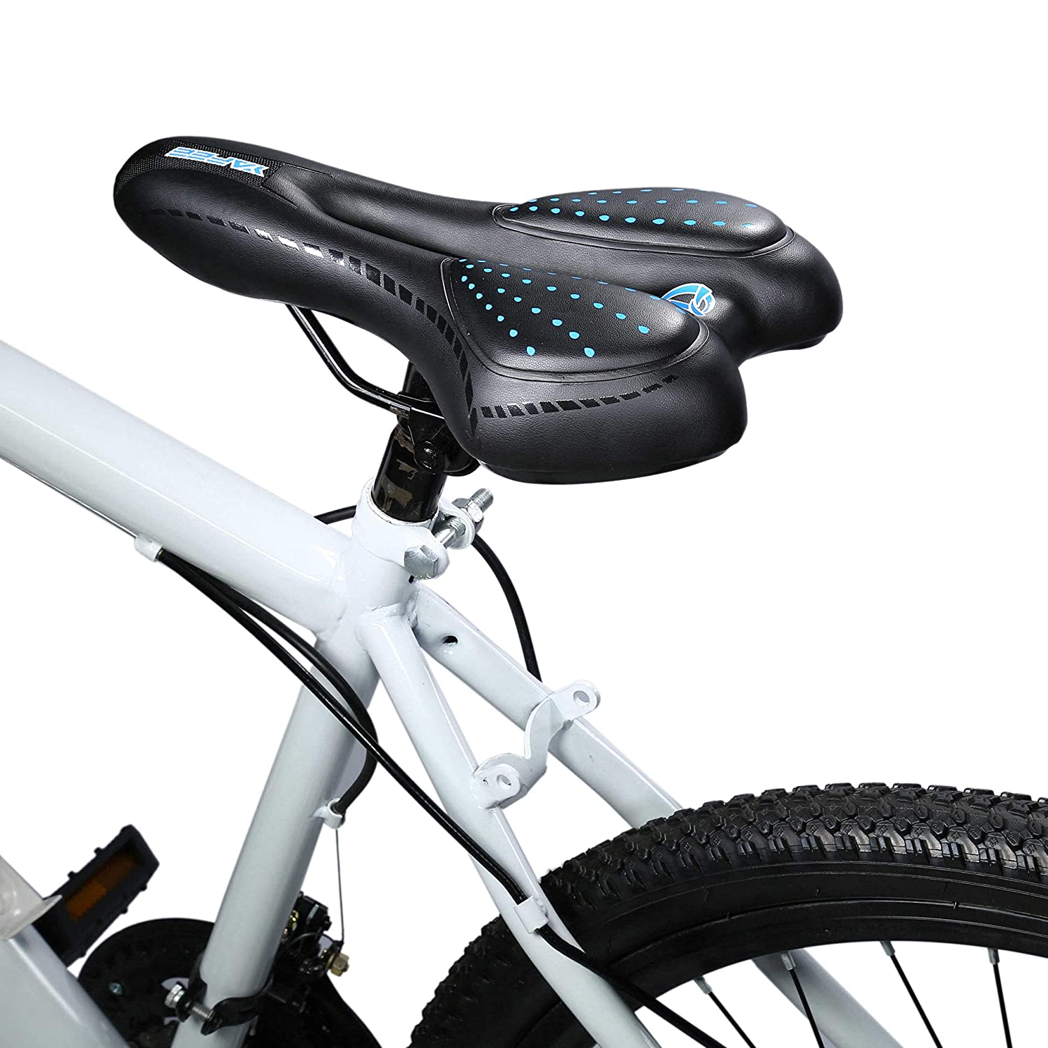 Bike Saddle Comfy Ultralight Mountain Bike Road Bicycle Hollow Out Spider Seat