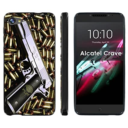 Amazon.com: [mobiflare] Alcatel A50 [Crave/Pulse Mix] Negro ...