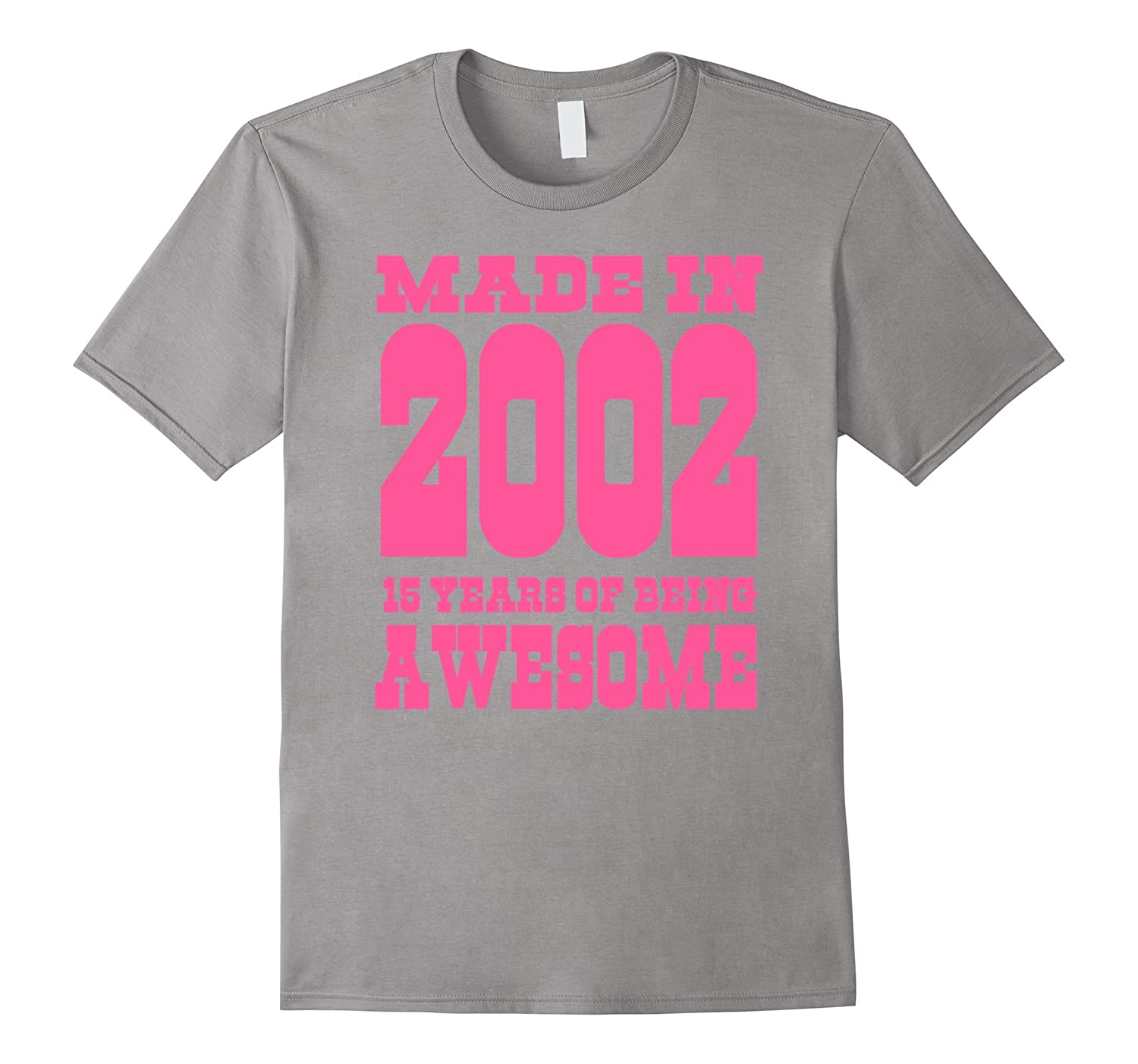 15th Birthday Gift Idea 15 Year Old Boy Girl Shirt 2002 TH