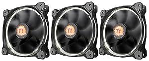 Thermaltake Islamic F055Riing 12LED Case Fan 3Pack White