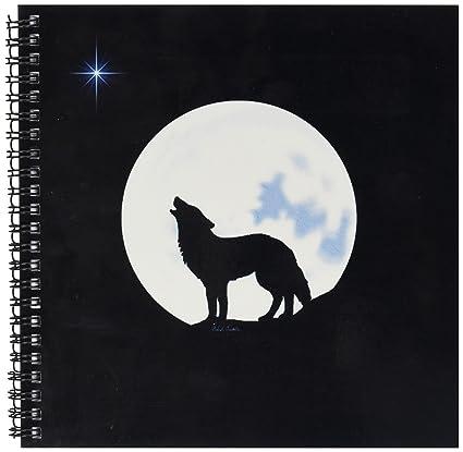3drose Db 11655 1 Esta Obra Cuenta Con Solo Lobo En Silueta