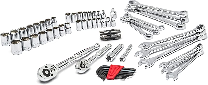 NEW 70pc Professional Tool Set Common Mechanical Tools Industrial Portable kit