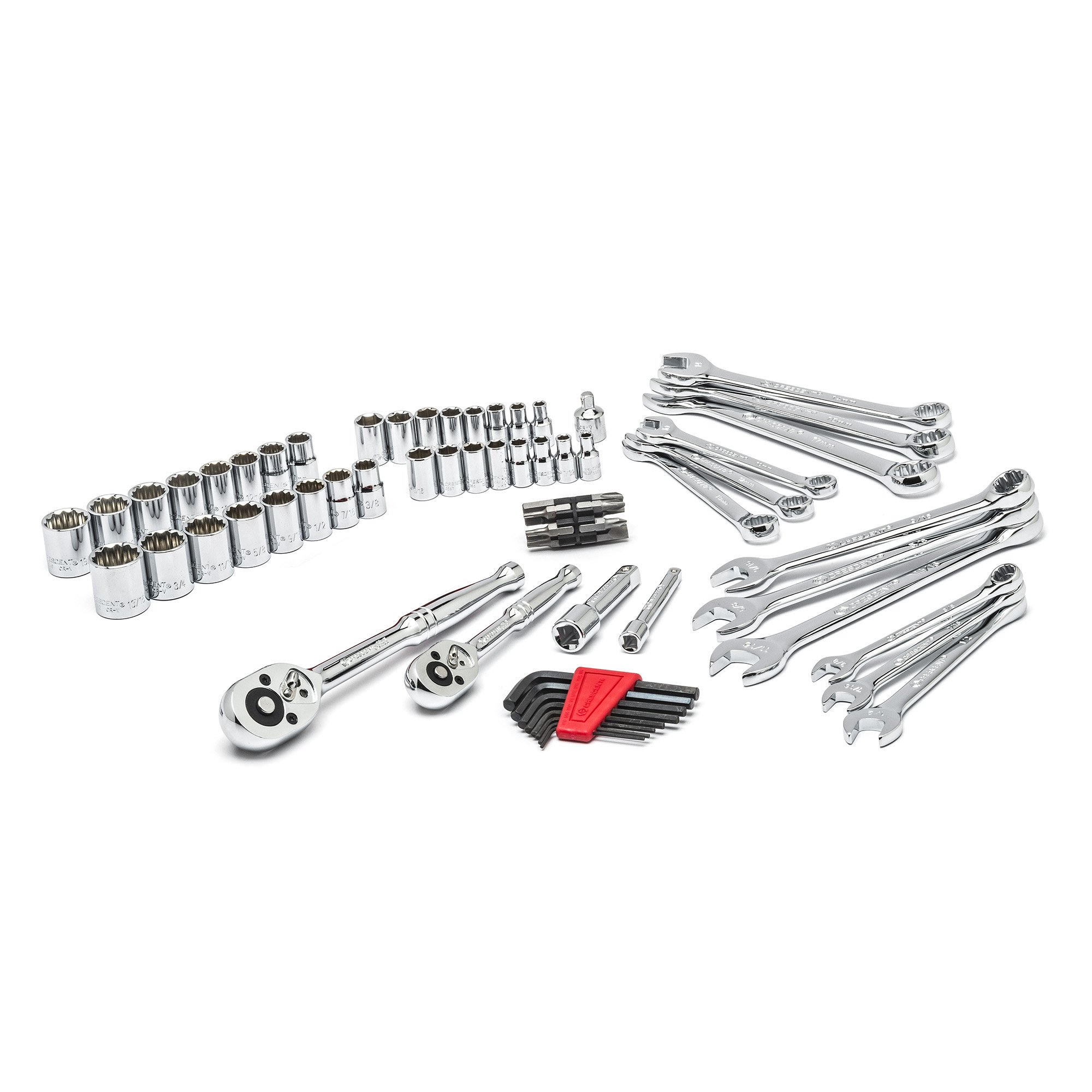 Crescent CTK70MP 70-Piece Mechanics Tool Set with Storage Case