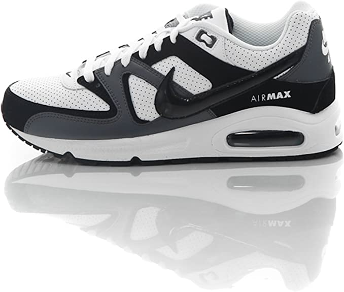 fragmento freno Detectable  Nike Air Max Command Leather 409998104, Baskets mode homme blanco Blanc,  noir et gris Size:44: Amazon.co.uk: Sports & Outdoors