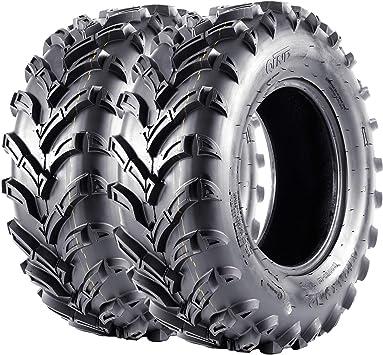 VANACC 25x8-12 25x10-12 Atv Tires Set of 4 lite Mud 25x8x12 25x10x12 6 Ply