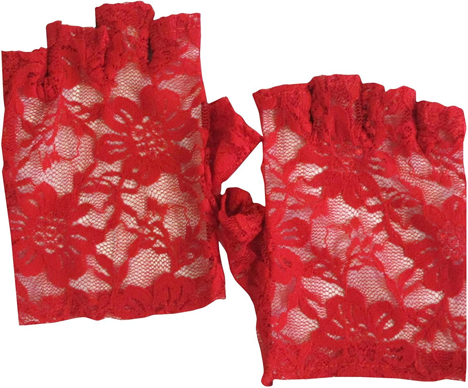 Floral Lace Fingerless...
