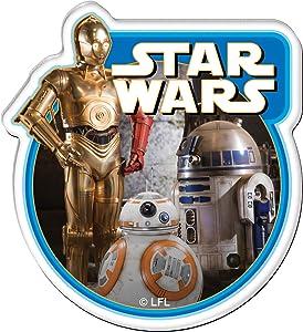 WinCraft Star Wars Star Wars Star Wars Carded Premium Acrylic MagnetWinCraft Star Wars Carded Premium Acrylic Magnet, Multicolor, NA