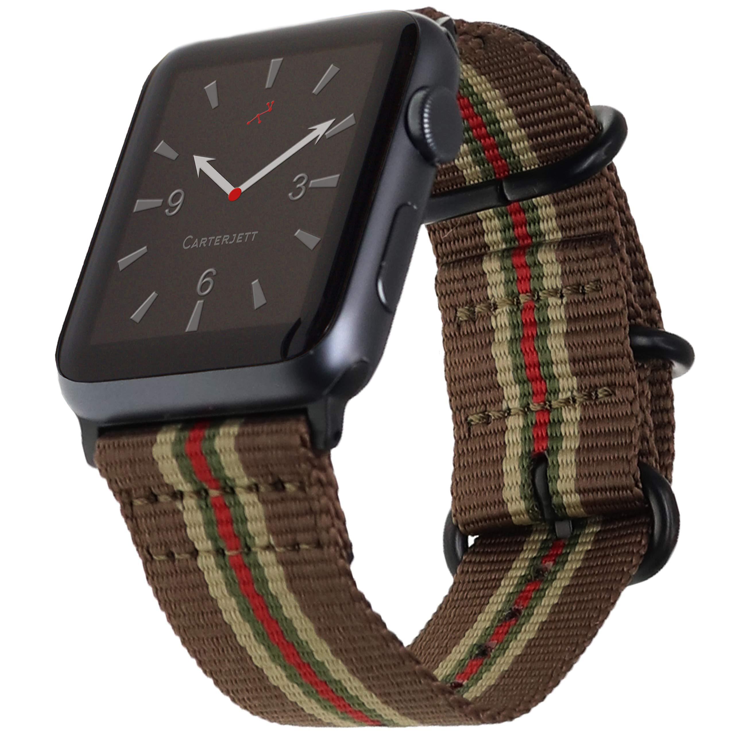 Malla Nylon para Apple Watch (42/44mm) CARTERJETT [7WF9LG56]