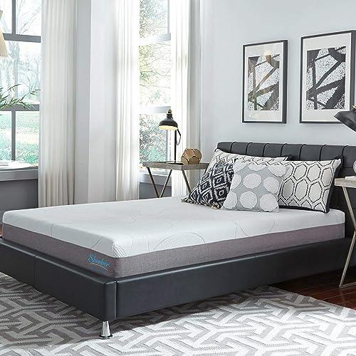 Slumber Solutions 10-inch Gel Memory Foam Choose Your Comfort Mattress Medium King