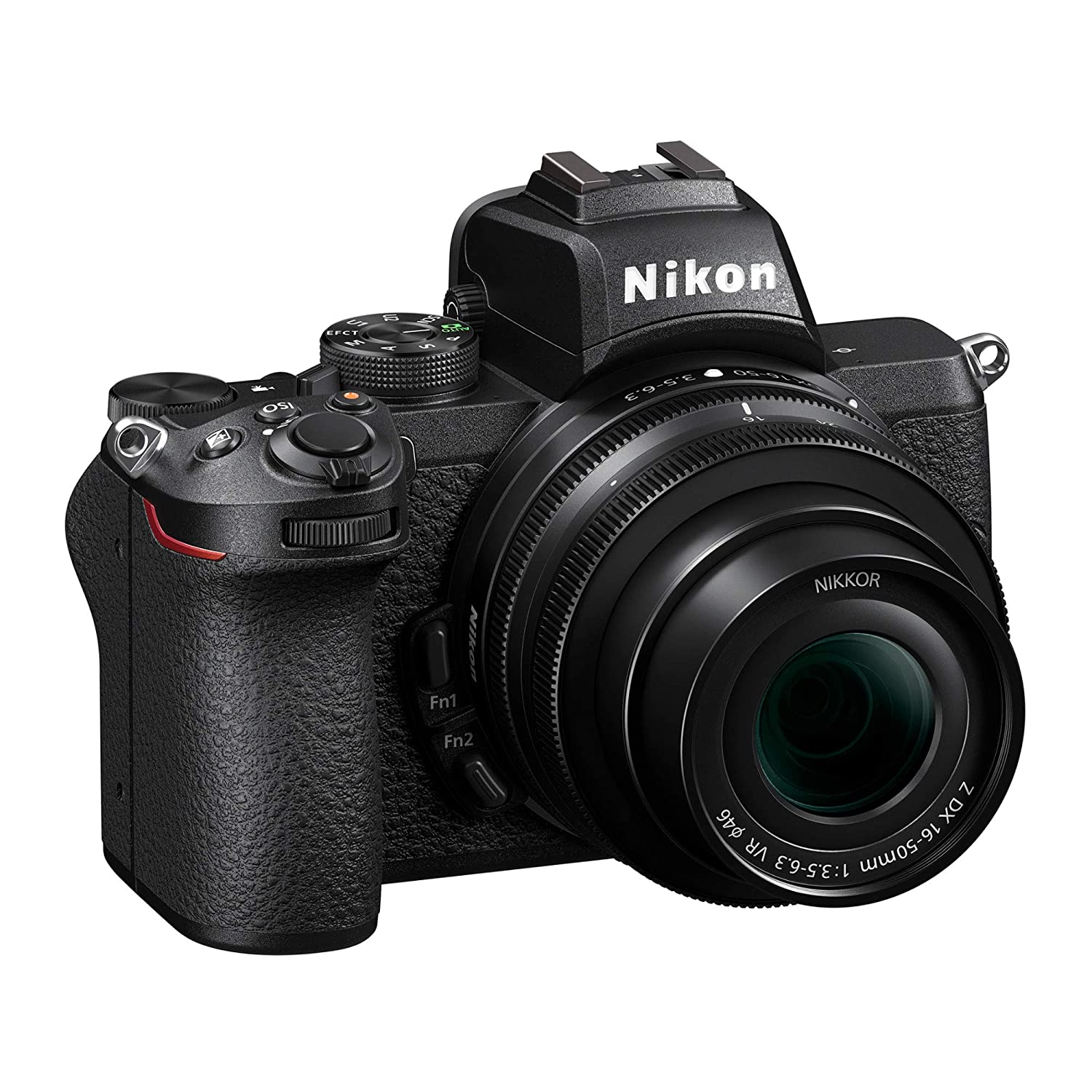 Nikon Mount Adapter 64GB Card and Accessory Bundle Nikon Z 50 DX-Format Mirrorless Camera with NIKKOR Z 16-50mm Lens 3 Items