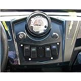 IZTOSS Dash Panel Aluminum Plate for Polaris RZR