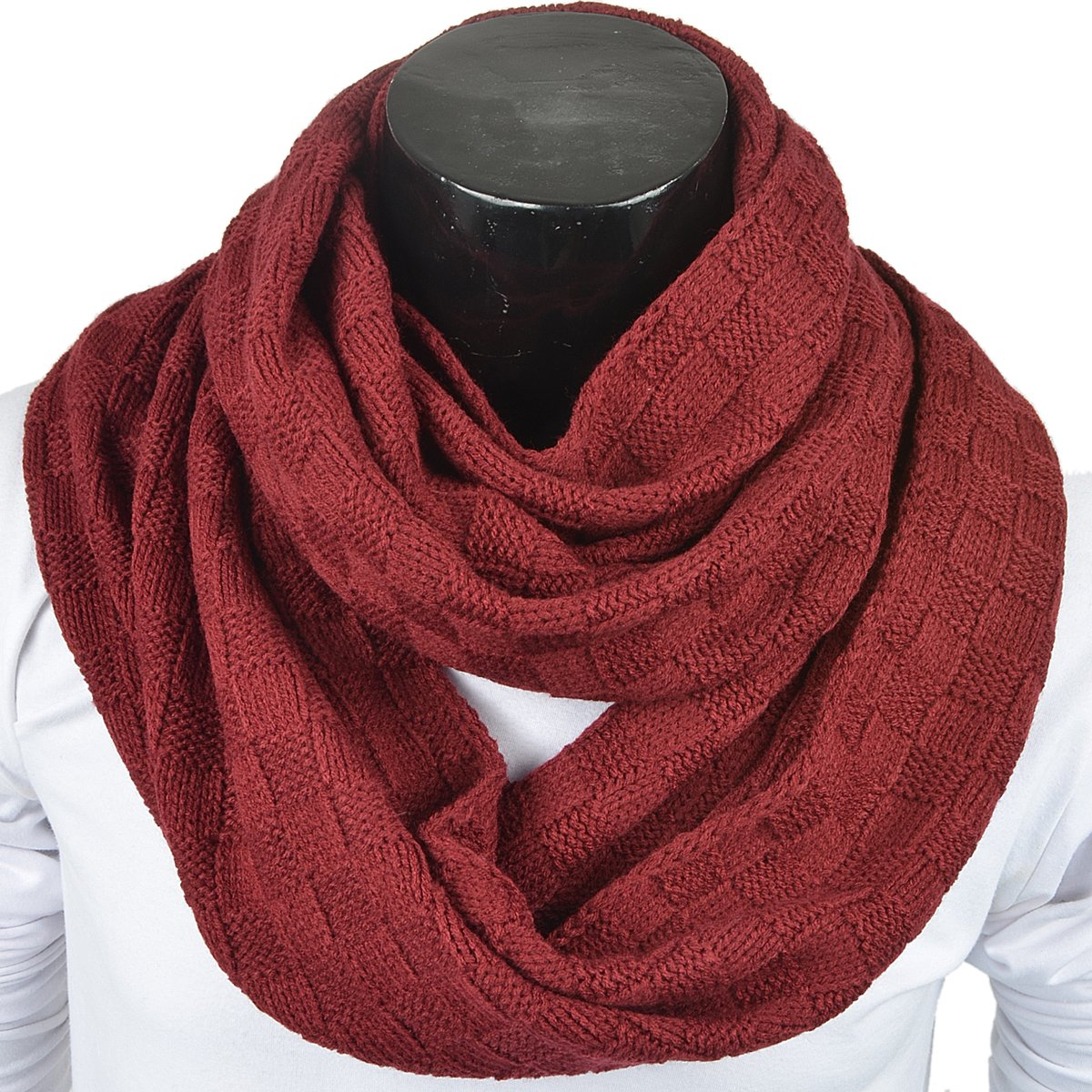forbusite charpe tube hiver foulard snood tricot homme et femme cache with  echarpe tube homme. 0063a4ee1d8