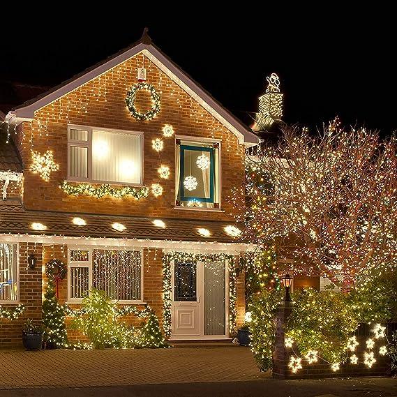 Cadena de Luces LED, ALED LIGHT Guirnalda de Luces de Navidad 20m ...