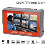 4 in 1 CCTV Tester for 1080P/3.0mp/4.0mp/5.0