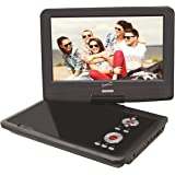 SuperSonic Portable TFT Swivel Display DVD Player with Digital TV Tuner, USB/SD Inputs and AC/DC Compatible for RVs, 9-Inch