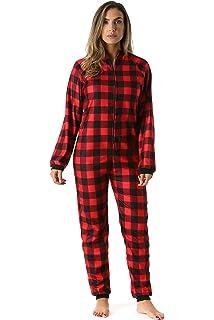 bb19946fe Sleepyheads Men s Sleepwear Fleece Non Footed Color Onesie Pajamas ...
