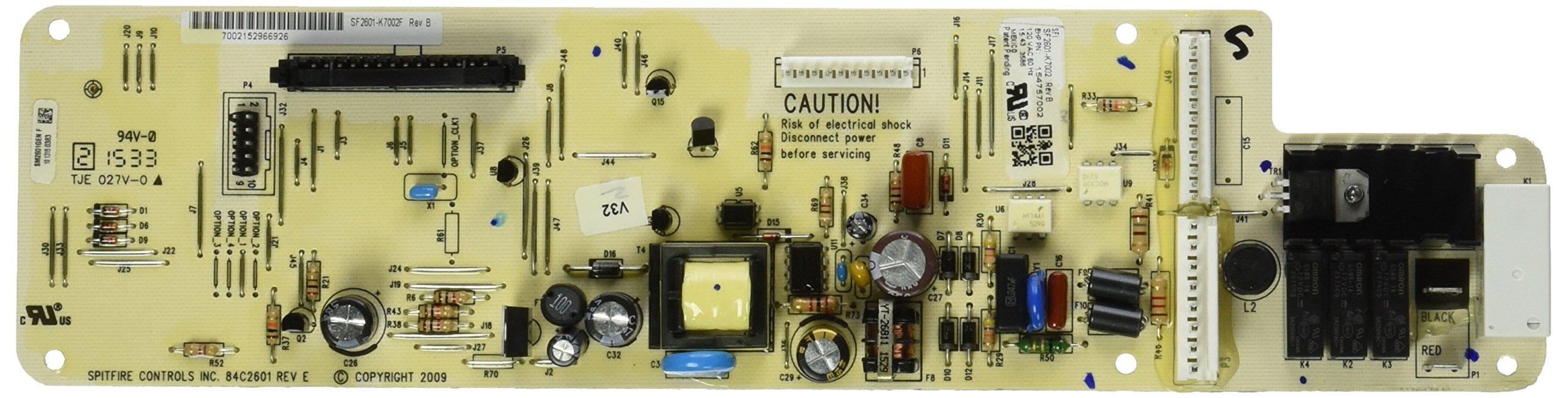 Frigidaire Dishwasher Control Board 154757002 / 154543602