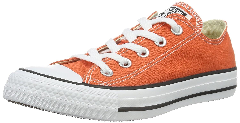 Converse Chuck Taylor All Star, Zapatillas Unisex Adulto 44 EU|Naranja