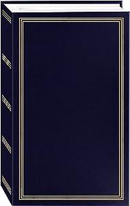 "Pioneer Photo Albums STC-504 Navy Blue Photo Album, 504 Pockets 4""x6"""