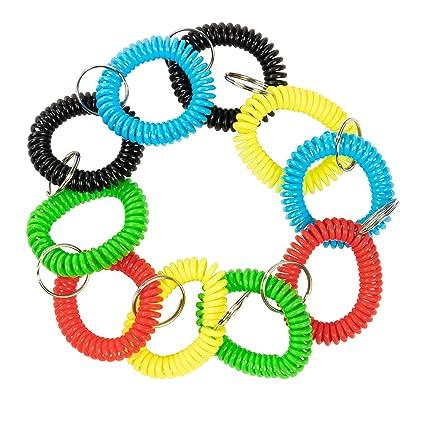 Coil Wristband Llavero - 50 unidades de resorte bobina ...