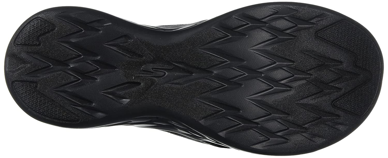 Skechers Women's on-The-Go 600-Monarch M Slide Sandal B072T4GW3T 8 M 600-Monarch US|Black 7790fa