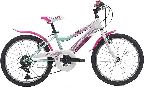 Cicli Cinzia Bicicleta Ariel de niña, Estructura de Acero, Dos ...