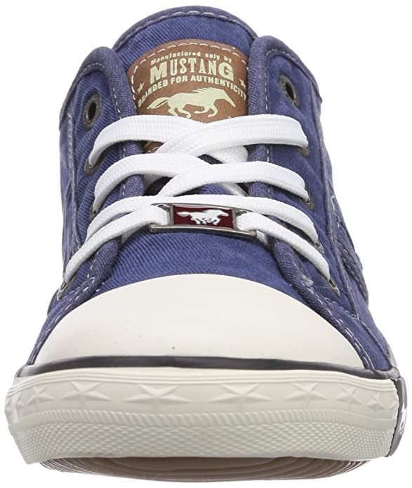 Mustang - 1099-302, Chaussures Femme, Bleu (jeansblau), 40 Eu