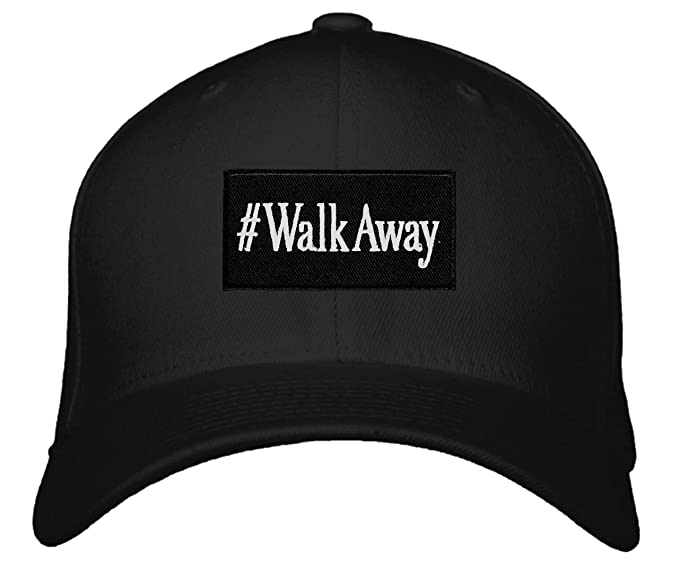 e770e3f3939 WalkAway Hat - Political Statement Adjustable Cap (Black) at Amazon ...