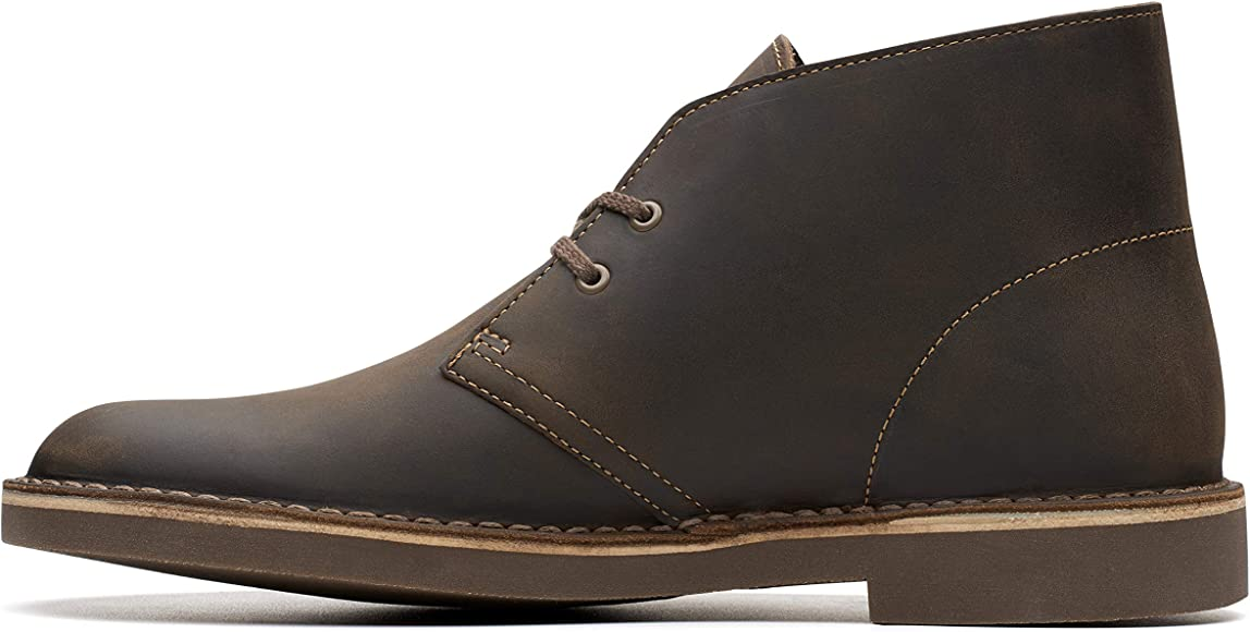 685887460672ed Amazon.com: Clarks Men's Bushacre 2, Beeswax, 7 M US: Shoes