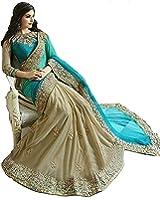 FabDiamond Women's Cotton With Blouse Piece Saree