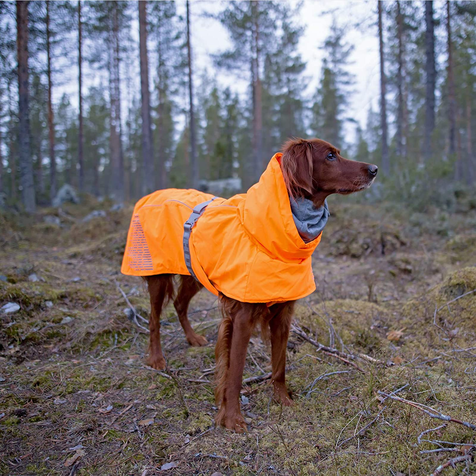 Hurtta Extreme Warmer Dog Winter Jacket Orange HU933014 - 2
