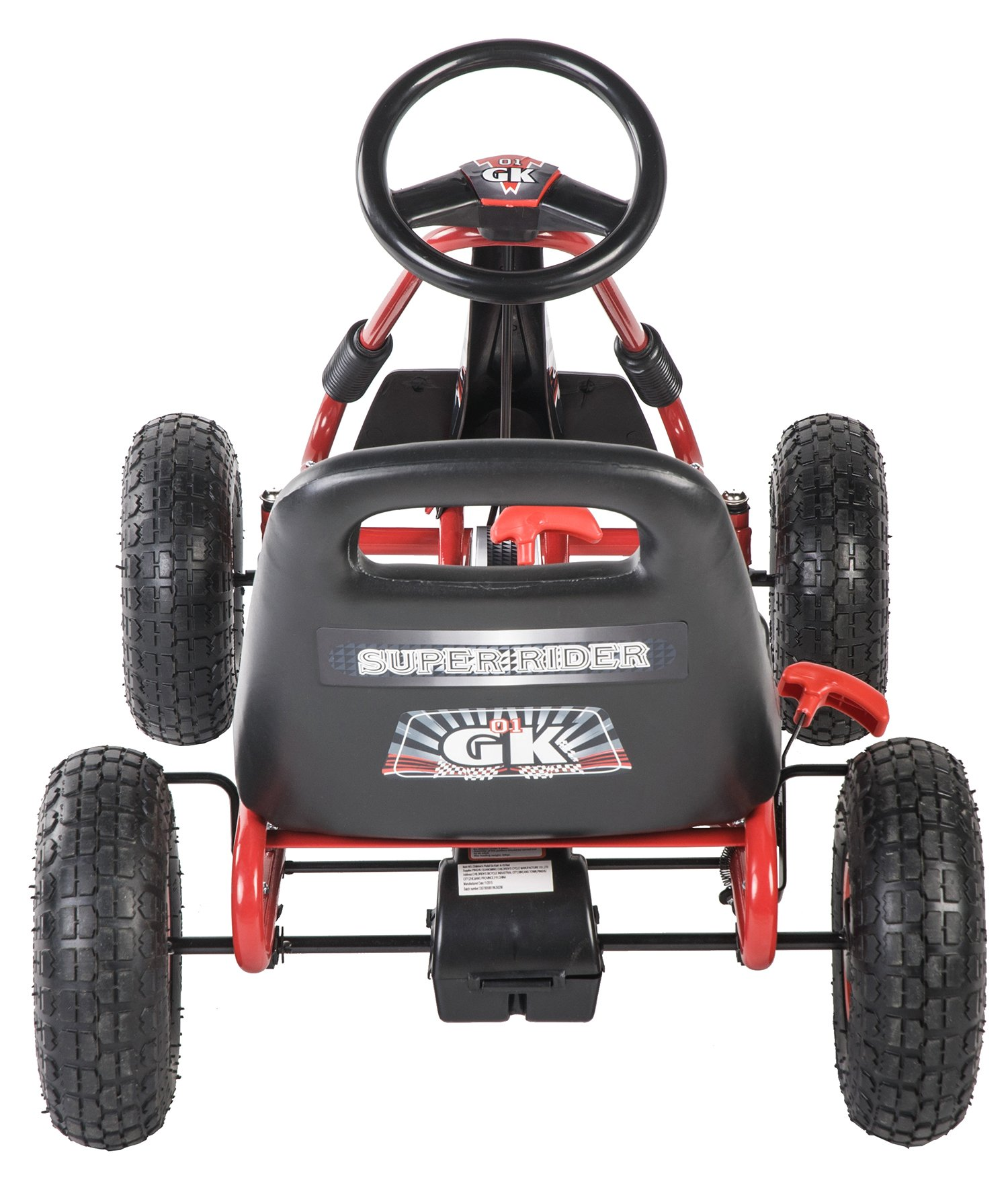 Merax Childrens Racing-Style Ride On Toy Pedal Car Go Kart by Merax