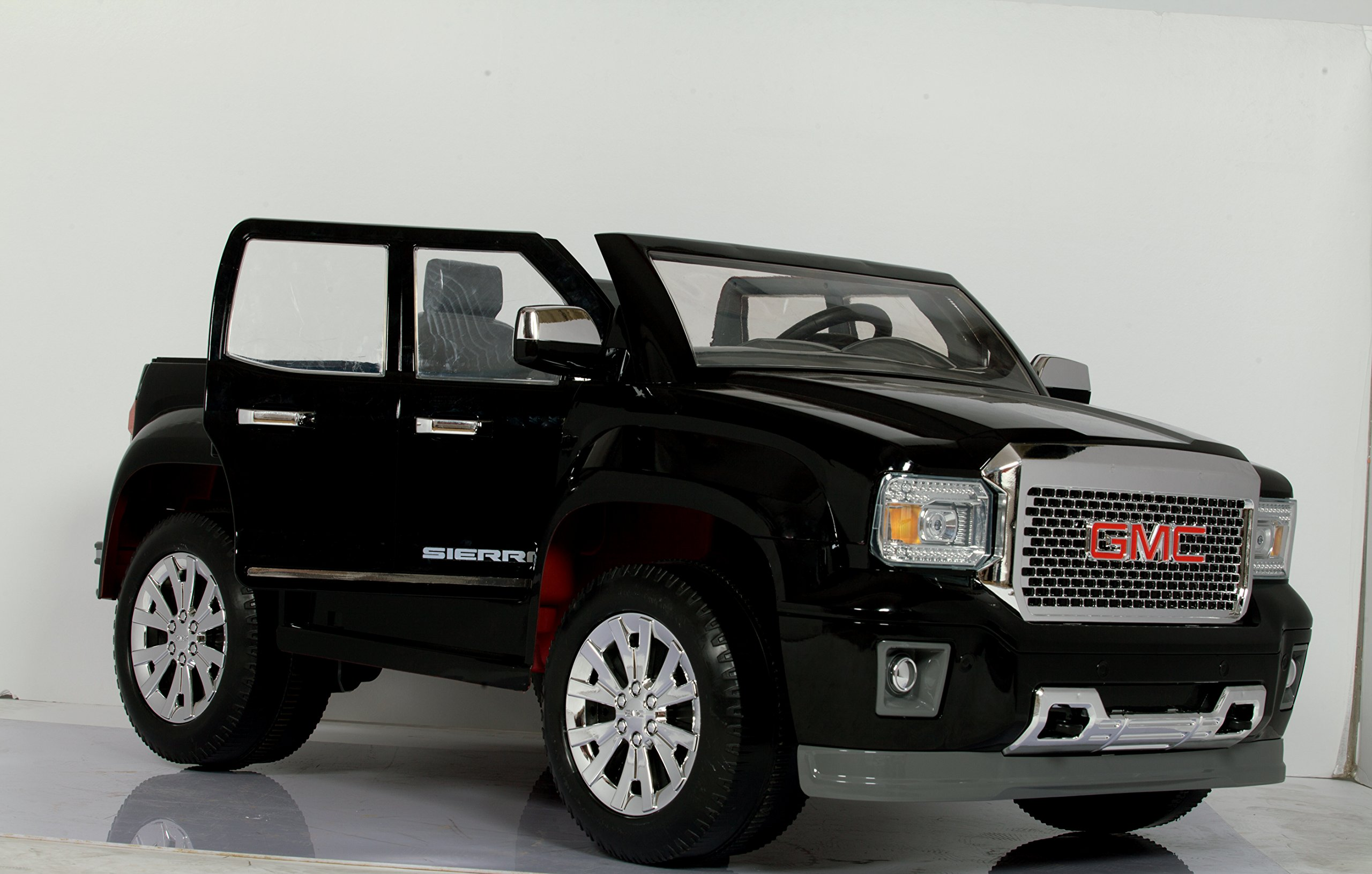 Rollplay GMC Sierra Denali 12-Volt Battery-Powered Ride-On, Black by Rollplay (Image #9)