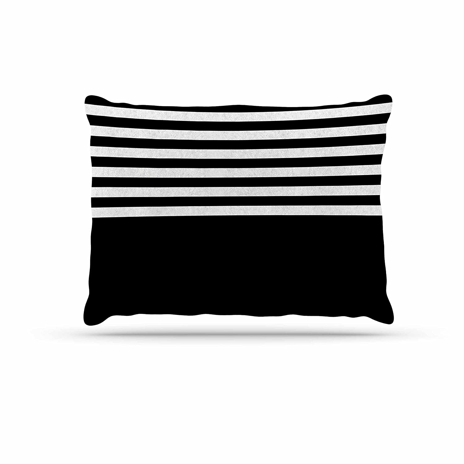 KESS InHouse Trebam Roletna Black White Dog Bed, 50  x 40