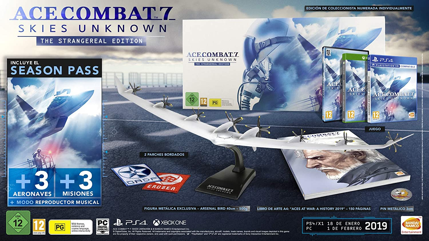 Ace Combat 7: Skies Unknown - The Strange Real Edition: Amazon.es ...