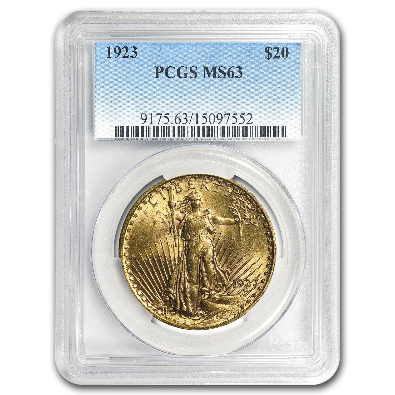 U.S Gold Gaudens Double Eagle PCGS MS 63 ** Random Dates $20 St
