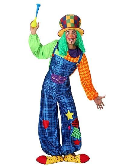 Atosa - Disfraz de Payaso, Adulto t. 4: Amazon.es: Juguetes ...