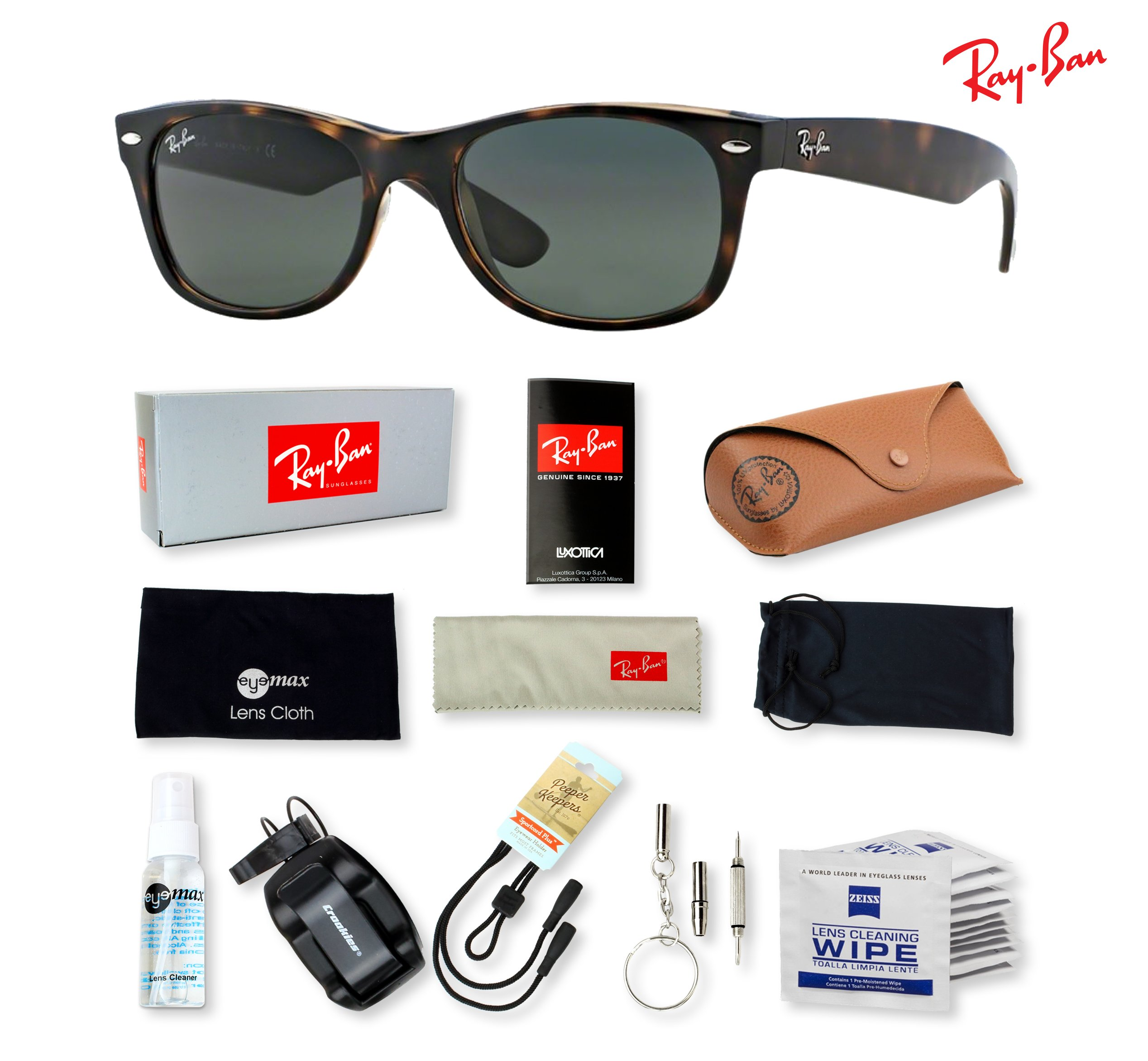 RB2132 52 mm (G-15XLT lens Tortoise-902) by Ray-Ban