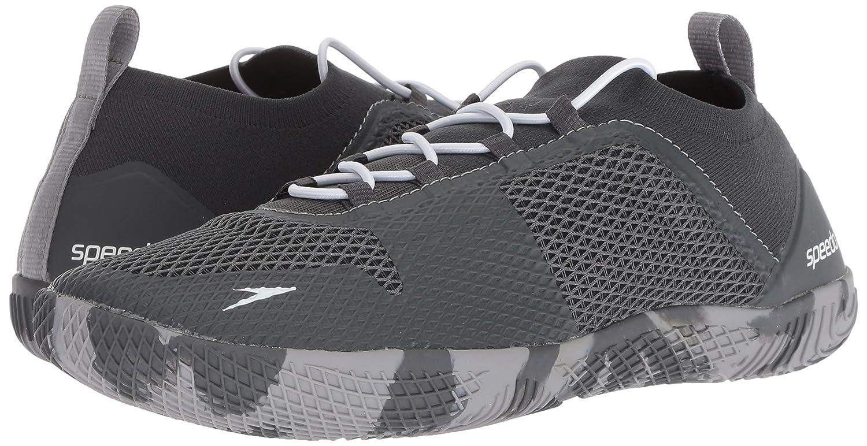 Dark Heather Grey 7H US Speedo Mens Fathom AQ Fitness Water Shoes
