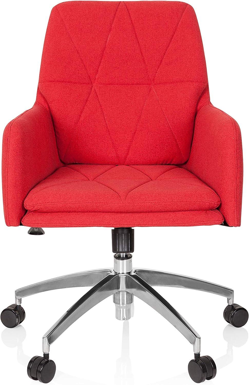 hjh OFFICE 670949 Fauteuil de Home Office Shake 350 Tissu