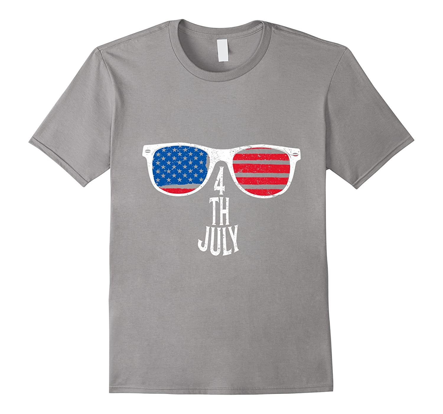 American Flag Day Independence July 4th T-Shirt Patriotic-PL
