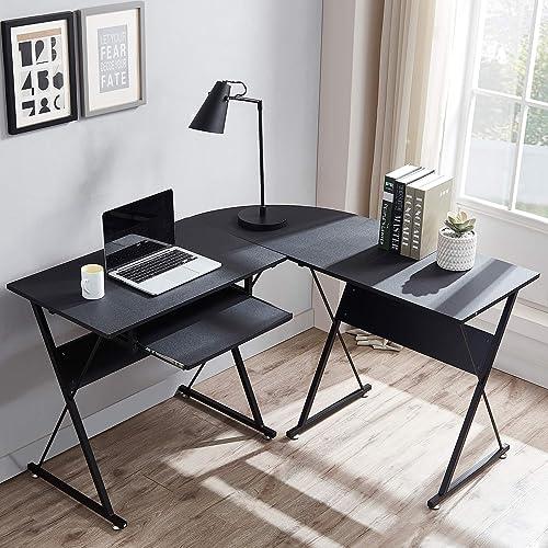 Frunimall L Shaped Desk