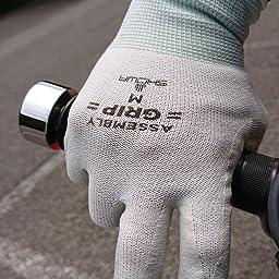 Amazon ショーワグローブ 10双パック 簡易包装 組立グリップ グレー Sサイズ 10双 グリップ 滑り止め手袋 産業 研究開発用品 通販